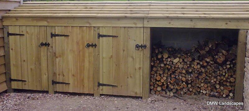 Log Sheds & Recycling Storage