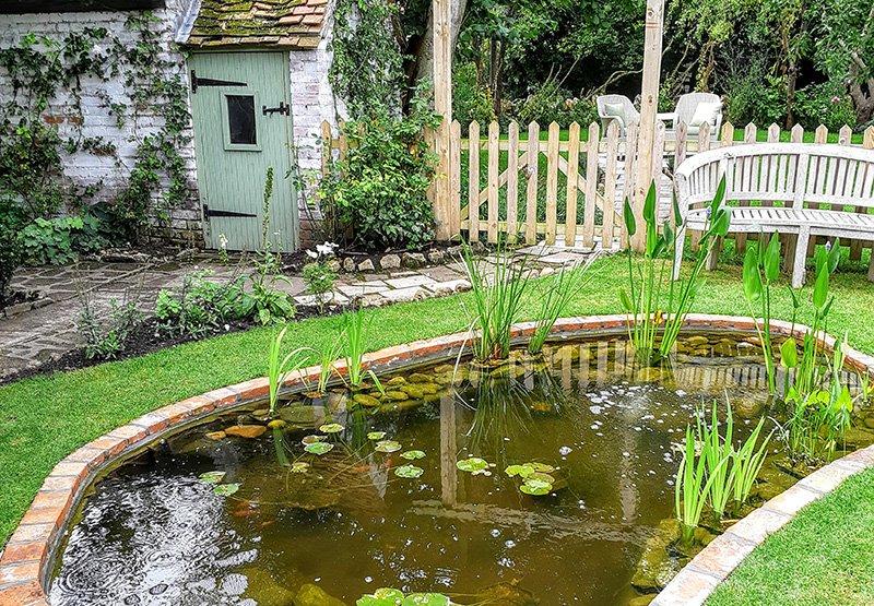 Garden Pond Construction