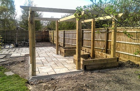DMW Landscapes Local Garden Construction 2